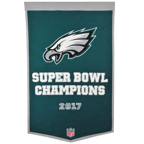 Philadelphia Eagles Super Bowl Championship Dynasty Banner - with hanging rod ()