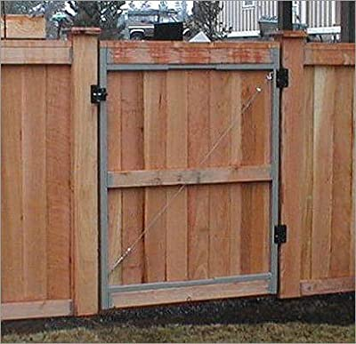 """Contractor Series Adjust A Gate Kit Width: 36"""" - 60"""""""