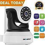 Wireless WiFi IP Security Camera - GENBOLT Pan Tilt Spy Camera 720P indoor