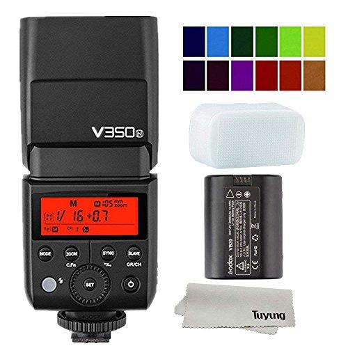 Godox V350N 2.4G Wireless Mini TTL Speedlite Flash for Nikon D800 D700 D7100 D5200 D5100 D5000 D300 D300D D3200 D3100 D3000 D200 D70S D810 D610 D90 D750 Cameras