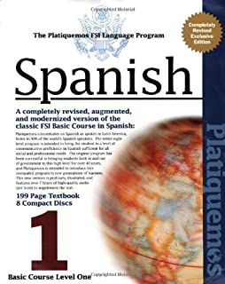 Amazon fsi platiquemos levels 1 8 spanish edition spanish fsi basic course platiquemos basic course level 1 8 cds and book fandeluxe