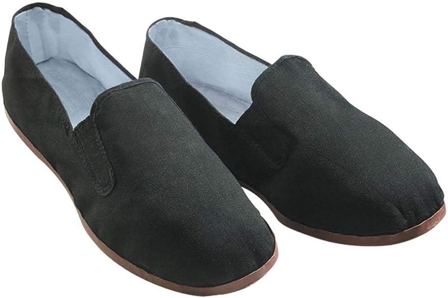 c1efd8bd3 Amazon.com | Kung Fu Tai Chi Shoes - Rubber Sole (35) Black ...