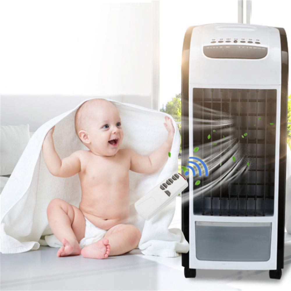 Air Cooler Clearance , 4 in 1 Air Cooler Black With Remote Control Fan Humidifier and Air Freshener by Little Story
