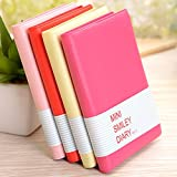 MAZIMARK--Notepad Notebook Writing Paper Diary Journal Memo Stationery Gifts Candy Color