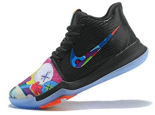 Off White X Kyrie 3 Cartoon Graffiti Multi Color Zapatos de ...