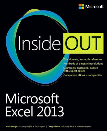 Microsoft Excel 2013 Inside Out Pdf