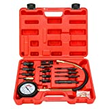 Diesel Direct & Indirect Engine Compression Pressure Tester Gauge Kit 1000PSI/70BAR