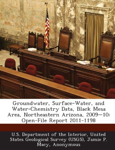 Groundwater, Surface-Water, and Water-Chemistry Data, Black Mesa Area, Northeastern Arizona, 2009-10: Open-File Report - Mesa Macys