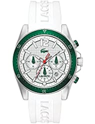Lacoste 2010709 Seattle Silicone Mens Watch - White Dial