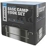 Stanley Base Camp Cook Set for 4 | 21 Pcs Nesting