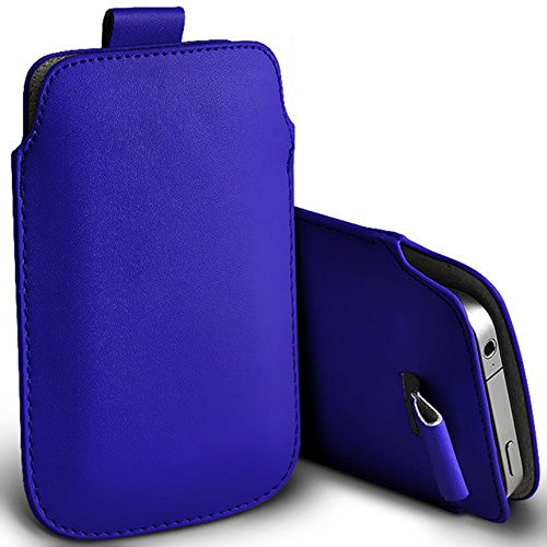 Digi Pig – Apple iPhone 4S poliuretano in pelle con linguetta custodia – colore blu