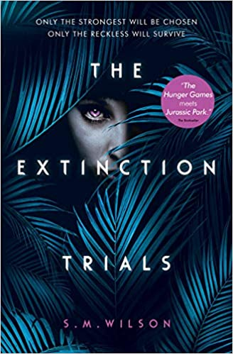 the extinction trials book review, dinosaur book, dinosaur books, the extinction trials, book review, ya book review, ya dystopia, dystopian books, dystopian books to read,