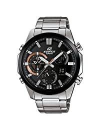 Casio Edifice Black Dial Stainless Steel Mens Watch ERA500DB-1A