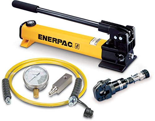Enerpac STC-750H Tool Pump Set WHC750 Hydraulic Cutter with P392 Hand Pump