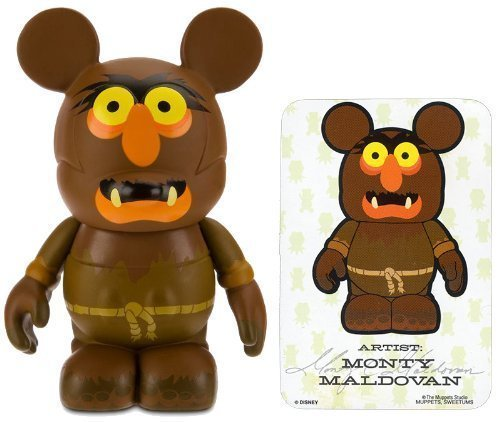 Sweetums by Monty Maldovan - Disney Vinylmation ~ 3% Daburukuote% the Muppets Series # 1 Designer Figure (Disney Theme Parks Exclusive)