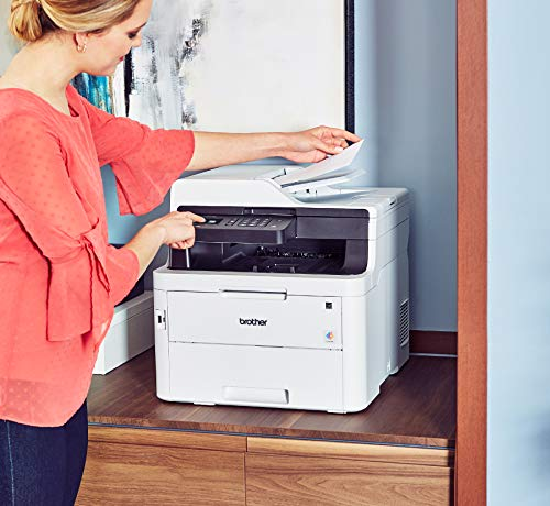 Brother MFC-L3750CDW Digital Color All-in-One Printer, Laser Printer Quality, Wireless Printing, Duplex Printing, Amazon Dash Replenishment Enabled by Brother (Image #4)
