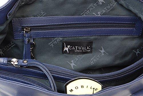 Collection femme Noir Foncé bandoulière Catwalk Handbags à Sacs HXdq8