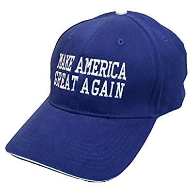 Pacific Headwear Donald Trump Make America Great Again Embroidered Sandwich Hat