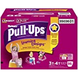 Huggies Pull-ups Training Pants for Girls, Size 3t-4t...