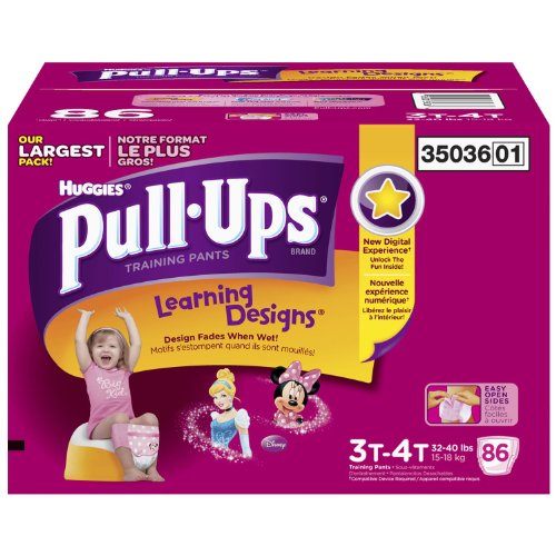 Huggies Pull ups Training Pants Girls
