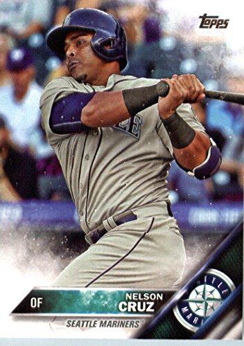 2016 Topps #10 Nelson Cruz Seattle Mariners Baseball Card