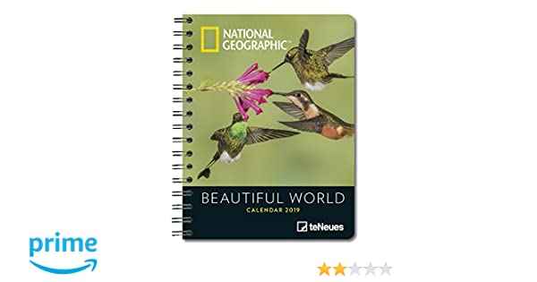 2019 Nat Geog Beautif World Deluxe Diary: Amazon.es: Libros