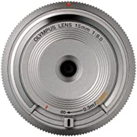 Olympus BCL-15mm f8.0 Body Lens Cap for Olympus/Panasonic Micro 4/3 Cameras (Silver)