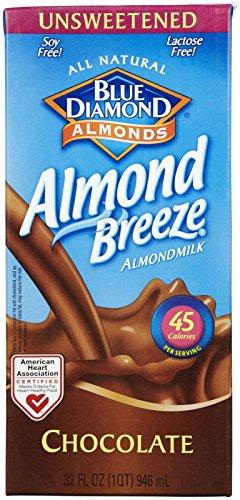 Dismal Diamond Almond Breeze - Unsweetened Chocolate - 32 oz