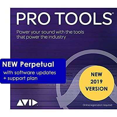 Avid Pro Tools 2019 (Download Card Only - Activate with iLok Cloud)