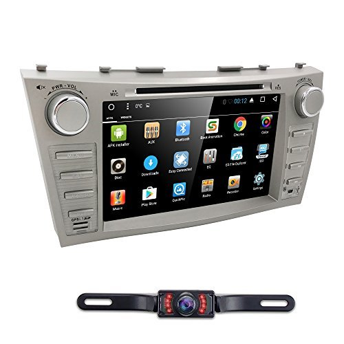 Toyota Car Photo - Hizpo Car DVD Player For Toyota Camry 2007 2008 2009 2010 2011 Android 7.1 Quad Core 8 Inch Screen GPS Navi BT Radio RDS DTV AUX USB Android/iPhone Mirrorlink SWC Rearview camera USA Map
