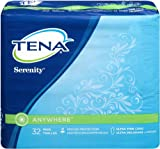 TENA Anywhere Ultra Thin Long Pads, 32 Count, Health Care Stuffs