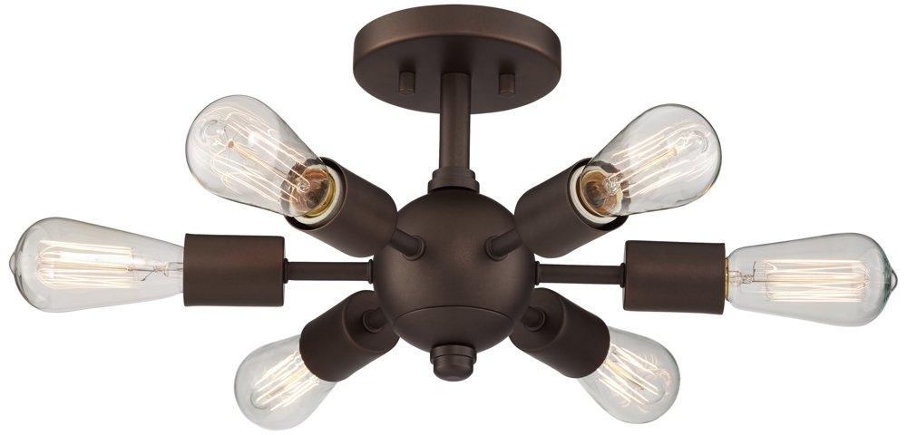 Bestla Oil Rubbed Bronze 6-Light Ceiling Light