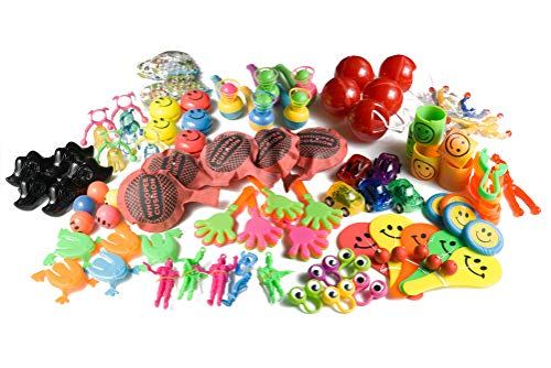 Jazzoo Party Favor Toy Assortment Pack of 92 PCS, Birthday Party Favors for Kids, Pinata Fillers, Classroom Rewards ()