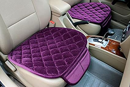 3PCs General protector Cover Anti-skid Pad Mat Front /& Back Set Beige YwewY Car Seat Cushion