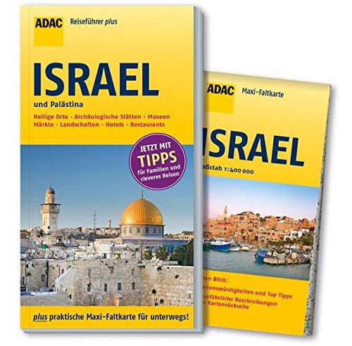 ADAC Reiseführer plus Israel und Palästina: mit Maxi-Faltkarte zum Herausnehmen