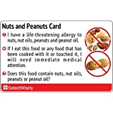Nüsse and Peanut Allergy Translation Card - Translated in Chinese (Mainland) or any of 67 languages