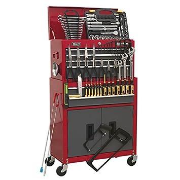 Sealey AP2200BBCOMBO Coffre à outils sur roulettes avec 6 tiroirs et  glissières à roulement à billes 340c194b434e