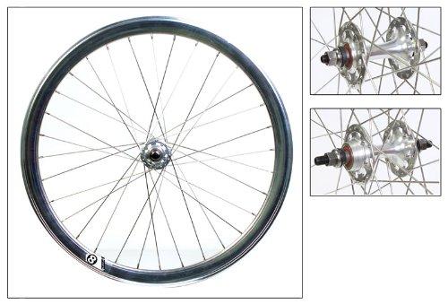 Origin8 700C Fixie Wheelset (ISO Diameter 622), Silver NMSW - Nmsw Rim