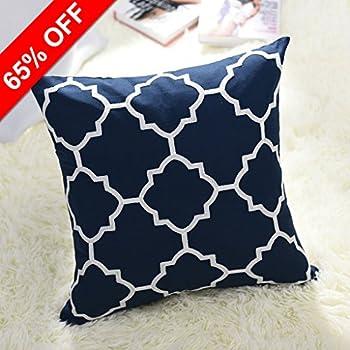 Amazoncom Do4U Home Decorative Hand Made Pillow Cover Fiber