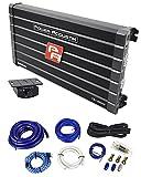 Power Acoustik CB1-8000D 4000 Watt RMS Mono Amplifier Car Audio Class D+Amp Kit