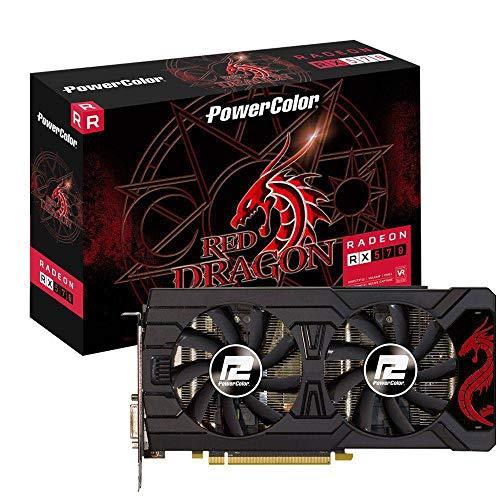 Risultato immagini per powercolor rx 570 red dragon