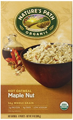 natures-path-organic-instant-hot-oatmeal-maple-nut-8-count-pack-of-6
