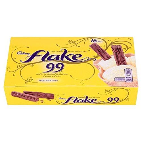 (Cadbury Flake 99s 16 per pack 134g)