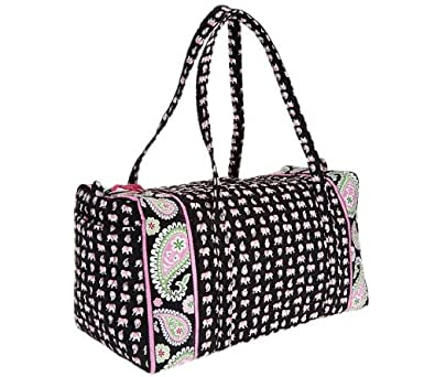 a7672db83695 Image Unavailable. Image not available for. Color  VERA BRADLEY LARGE DUFFEL  ...
