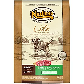 Amazon.com: Nutro Lite, Weight Loss Dry Dog Food, Lamb And
