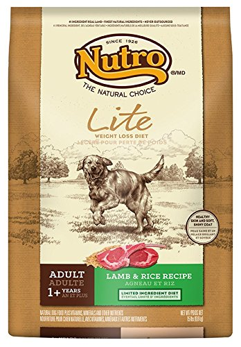 NUTRO Lite, Weight Loss Dry Dog Food, Lamb and Rice, 15 lbs. For Sale