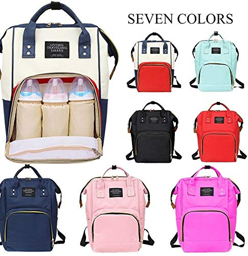 The Little Lookers™ Premium Quality Nursing Waterproof Multifunctional Diaper Backpack| Maternity Diaper Bag| Trendy & Stylish Mother Bag (Multi Colour)
