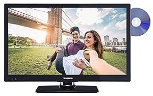 Telefunken XF22A101D 56 cm (22 Zoll) Fernseher (Full HD, Triple Tuner, DVB-T2...