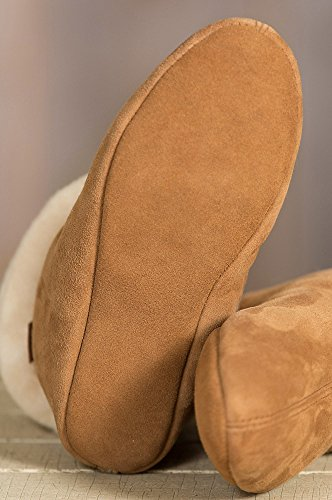 Women's Overland Lily High-Top Sheepskin Slippers by Overland Sheepskin Co (Image #3)