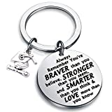 Graduation Gift You are Braver Stronger Smarter Than You Think Inspirational Graduates Gifts for him/her Class of 2019 Graduation Gifts (Silver)